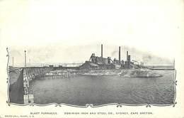 Pays Div- Ref R243- Australie - Australia - Blast Furnaces - Dominion Iron And Steel Co , Sydney , Cape Breton - - Non Classés