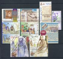 Israël 1999 Mi. 1497-1505 Neuf ** 100% Culture, Fêtes, Traditions - Israel