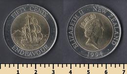 New Zealand 50 Cents 1994 - New Zealand