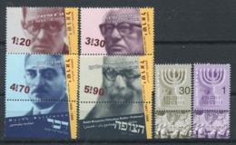 Israël 2002 Mi. 1706-1711 Neuf ** 100% Politiciens, Personnalités - Israel