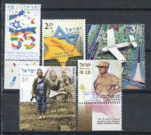 Israël 2003 Mi. 1723-1727 Neuf ** 100% Culture, Avion, Dori - Israel