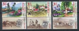Israël 2003 Mi. 1736-1738 Neuf ** 100% Atlit, Givat-Ada - Israel