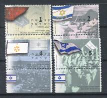 Israël 2003 Mi. 1739-1742 Neuf ** 100% Drapeau - Israel