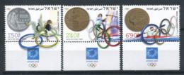 Israël 2004 Mi. 1788-1790 Neuf ** 100% Jeux Olympiques, Athènes - Israel