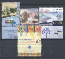 Israël 2004 Mi. 1797-1800 Neuf ** 100% Culture, Banque - Israel