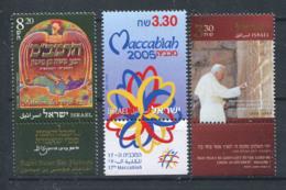 Israël 2005 Mi. 1828-1829 Neuf ** 100% Maccabiah, Maïmonide - Israel
