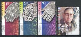 Israël 2006 Mi. 1885-1888 Neuf ** 100% Amulettes Khamsa, Abba Eban - Israel