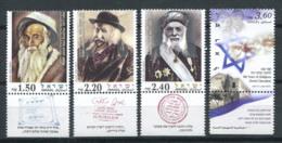 Israël 2006 Mi. 1855-1858 Neuf ** 100% Rabbins, Religion - Israel