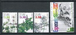 Israël 2006 Mi. 1896-1899 Neuf ** 100% Plantes, Espéranto - Israel