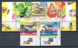 Israël 2007 Mi. 1908-1909 Neuf ** 100% Culture, Télévision éducative - Israel