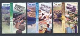 Israël 2007 Mi. 1921-1923 Neuf ** 100% Développement Urbain - Israel