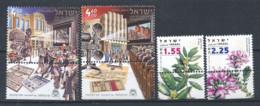 Israël 2007 Mi. 1946,1954 Neuf ** 100% Culture De Plantes - Israel
