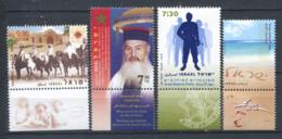 Israël 2007 Mi. 1940-1943 Neuf ** 100% Hashomer, Messas, Nature - Israel