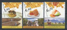 Israël 2009 Mi. 2077-2079 Neuf ** 100% Apiculture - Israel