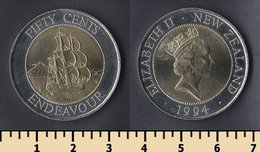 New Zealand 50 Cents 1994 - Nouvelle-Zélande