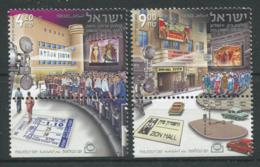 Israël 2010 Mi. 2176-2177 Neuf ** 100% Cinémas Historiques - Unused Stamps (with Tabs)
