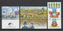 Israël 2010 Mi. 2124-2129 Neuf ** 100% Voile, Jérusalem, Tzevet - Unused Stamps (with Tabs)