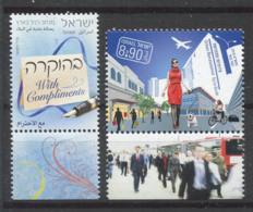 Israël 2010 Mi. 2137,2140 Neuf ** 100% Parti, Rénovation Urbaine - Unused Stamps (with Tabs)