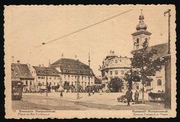 ROUMANIE - HERMANNSTADT - PLACE DU ROI FERDINAND - Roumanie