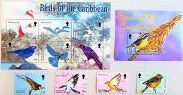 #Montserrat 2003** Mi.1219-22,Klb.1223-28,bl.99  Birds ,MNH [26;36] - Birds