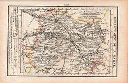 LA MARNE - Routes De POSTE - Relais De POSTES - Nombre De POSTES D'un Relais à L'autre - Documents Historiques