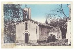 Cpa Tulette - Notre Dame Du Roure - Autres Communes