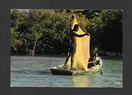HAITI - ANTILLES - SCÈNE HAÏTIENNE - HAITIAN SCENE - PÊCHEURS - FISHER MEN - PAR IRIS - Haïti