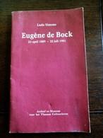 Boekje  Door Ludo Simons  Eugéne  De Bock   1889 ---1981  Stichter  Uitgeverij  DE  SIKKEL  --- Programmakaart  Herdenk - Marque-Pages