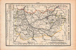 LA MEURTE - Routes De POSTE - Relais De POSTES - Nombre De POSTES D'un Relais à L'autre - Historical Documents