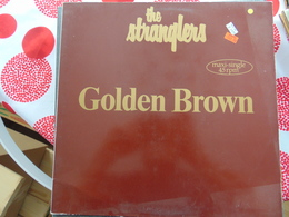 The Stranglers- Golden Brown - 45 T - Maxi-Single