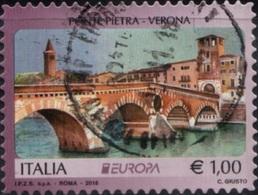 Italia 2018 Ponte Pietra Verona - 6. 1946-.. Repubblica