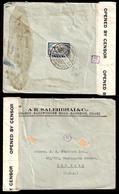 SIAM. 1941 (27 Sept). Bangkok - USA. Fkd. Doble Censored Env. Thai -6. - Siam