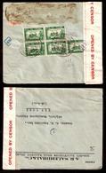 SIAM. 1941 (4 Oct). Bangkok - USA. Multifkd. Doble Censored - Thai - 1 Env. - Siam