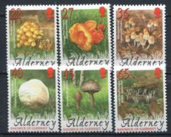 Alderney 2004 Mi. 224-229 Neuf ** 100% Champignons - Alderney