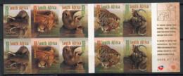 Afrique Du Sud 2001 Mi. 1338-1342 Carnet 100% Neuf ** Animaux - Booklets