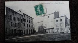 CPA VERNOUX PITTORESQUE ARDECHE PLACE GRENETTE 1913 ? ED VINARD ? - Vernoux