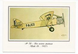 CP - N°52 - Les Avions Postaux : Laté 26 - Musée Postal - Postal Services