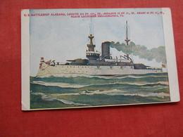 US Battleship Alabama     Ref 3174 - Warships