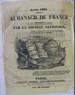 ALMANACH DE FRANCE 1841 - LOUIS-PHILIPPE - Livres, BD, Revues