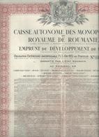 Action  Et Titres  Roumanie  Nos 536.776 - Actions & Titres