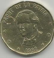 Republique Dominicaine RD0011992 - 1 Peso 1992 - Dominicana