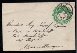 AKHMIM - EGYPTE - EGYPT / 30-12-1904 ENTIER POSTAL POUR L'ALSACE - REICHSHOFFEN (ref 7260a) - Egypt