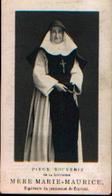 Souvenir Mortuaire VERWILGHEN Marie-Thérèse (Mère Marie-Maurice) (1871-1913) Nee à SAINT-NICOLAS Morte à COURTRAI ---> - Images Religieuses