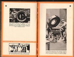 1888/1928 - 40° Anniversaire De La Fondation De L'Industrie Du Pneumatique - Visite Des Usines J.B. DUNLOP - Documents Historiques