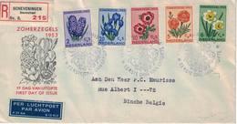 Nederland. FDC. 1953. Thème: Fleurs - FDC