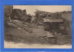 08 ARDENNES - SIGNY LE PETIT Déraillement De L'Express N° 31, 10 Août 1902, Pionnière - Autres Communes