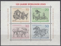 BERLIN Block 2, Postfrisch **, Berliner Zoo 1969 - Blocks & Kleinbögen