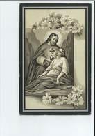ZUSTER NICEPHORA MARIA JOSEPHINA JULIA SAUWENS ° ZOUTLEEUW 1894 KLOOSTER VORSELAAR + DEUZELD ( SCHOTEN ) 1915 - Images Religieuses