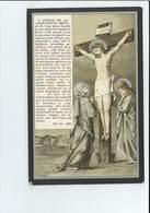 PHILOMENA ENGELS WED JOANNES FRANCISCUS VAN KERCHOVE ° SINT-PAUWELS ( SINT-GILLIS-WAAS ) 1840 + SINT-NIKLAAS 1912 - Images Religieuses