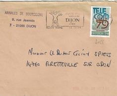 TP N° 2055 Seul  Sur Enveloppe De Dijon - 1961-....